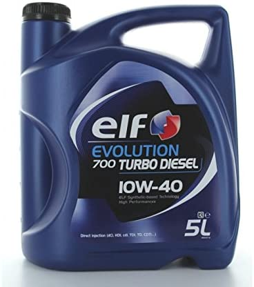 Aceite de Motor El Evolution 700 Turbo Diesel 10W40 – Botella de 1 ...