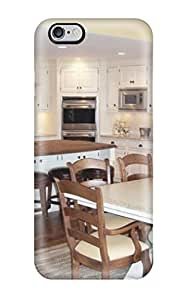 ZippyDoritEduard EoKfesx3457eVNbY Case For Iphone 6 Plus With Nice Kitchen With White Cabinets And Dark Wood Countertop Appearance