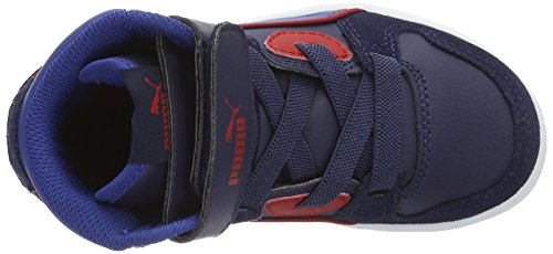 Puma Rebound Street Sd V Ps, Zapatillas Unisex Niños Azul (Peacoat-true Blue 13)