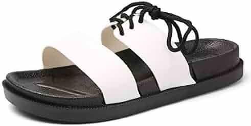 KOUY Summer Unisex Beautiful Scale Home Slippers Bath//Beach Non Slip Slide Sandals
