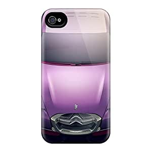 Awesome Citroen Revolte Concept 4 Flip Case With Fashion Design For Iphone 4/4s