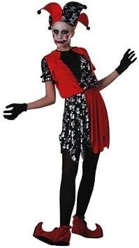 Disfraz de bufón chica: Amazon.es: Juguetes y juegos