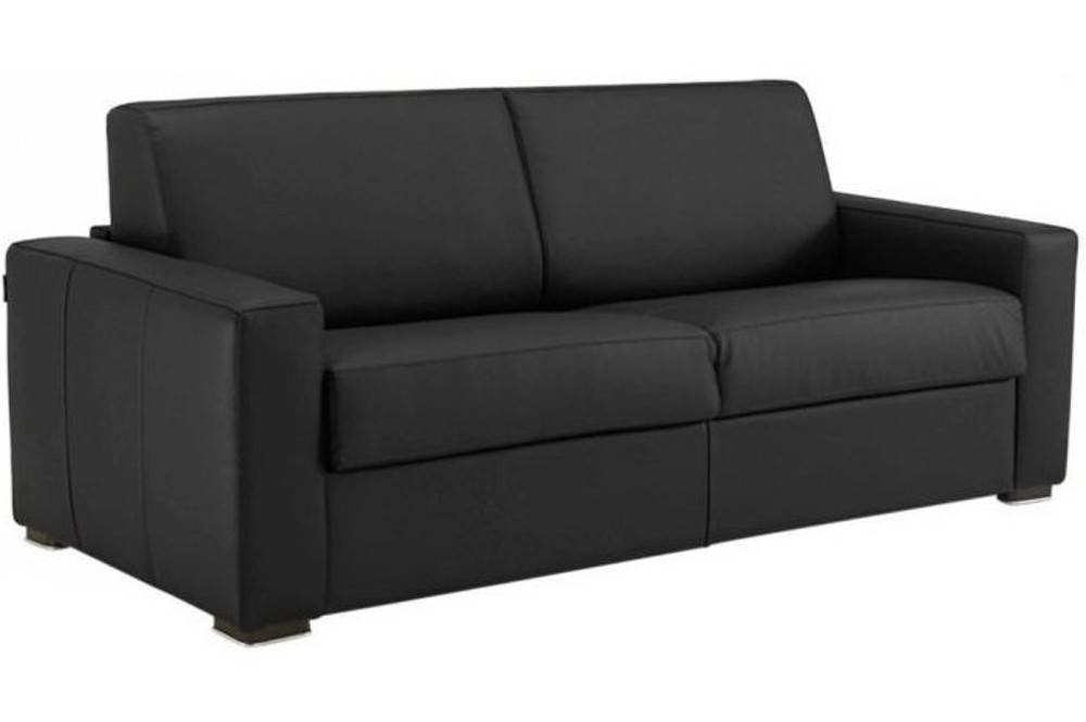 sofa 2 3 sitzer dreamea system rapido 120 cm leder schwarz 50509730 limited edition g nstig. Black Bedroom Furniture Sets. Home Design Ideas
