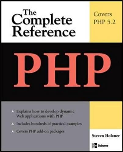 PHP The Complete Reference 1st Edition