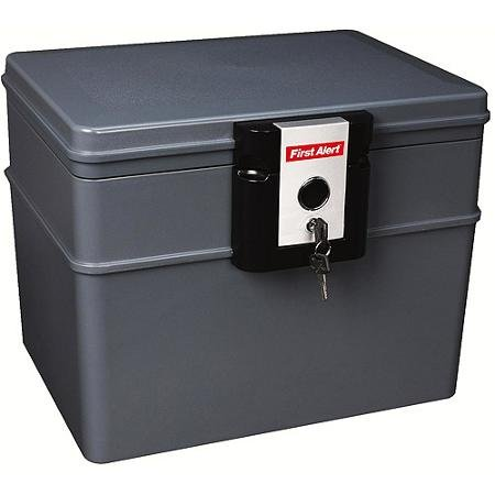 First Alert Waterproof Fire Resistant File Chest, 0.62