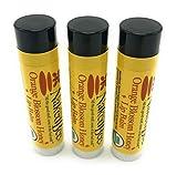 Naked Bee Orange Blossom Lip Balms - 3 Pack