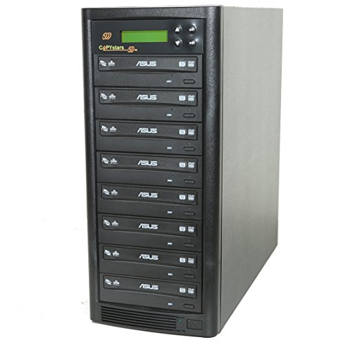 Copystars CD/DVD Duplicator 1-7 Copier Dual Layer