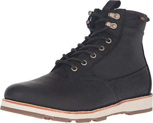 Vans Men's Fairbanks Boot (Nubuck/Plaid) Black All Purpose Weather Boot (8 D US)