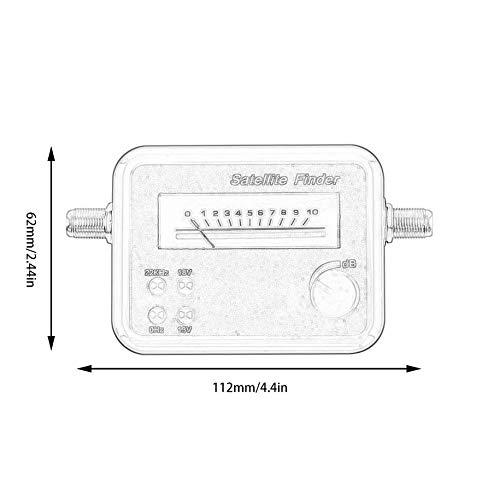VCB BRAND SF9504 Digital Satfinder Sat Finder Receptor Portable TV Satellite Finder - Black(Without Cable)