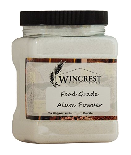 Alum Powder - Food Grade - 2 Lb Container