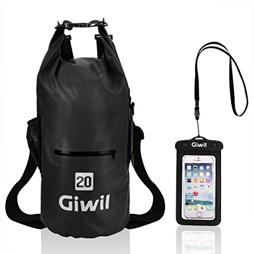 Waterproof Dry Bag - 20L with Dual Adjustable Straps