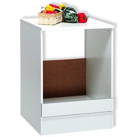Base componibile cucina aperta forno incasso kit legno bianco BS6756 ...