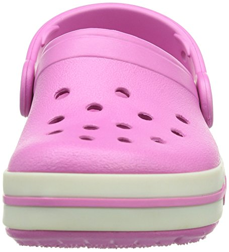 Enfant Ps Rose Mixte Crocs Pink white party Sabots Lights v7ZwBp