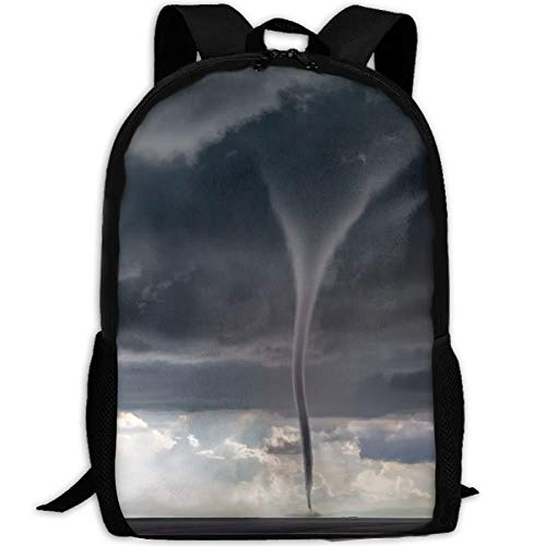 CYMO Tornado Day Storm Chaser Unique Casual Backpack School Bag Travel Daypack -