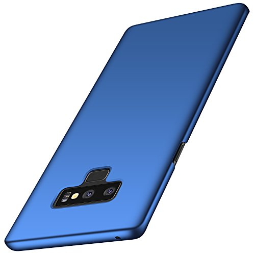 Galaxy Note 9 Case, Arkour Minimalist Ultra Thin Slim Fit Cover with Smooth Matte Surface Hard Cases for Samsung Galaxy Note9 (2018) - Smooth Royal Blue