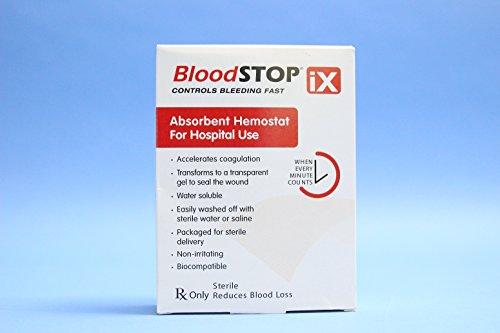 Blood Stop IX Absorbent Hemostat 2''x14'' (Box of 12) by LifeScience PLus
