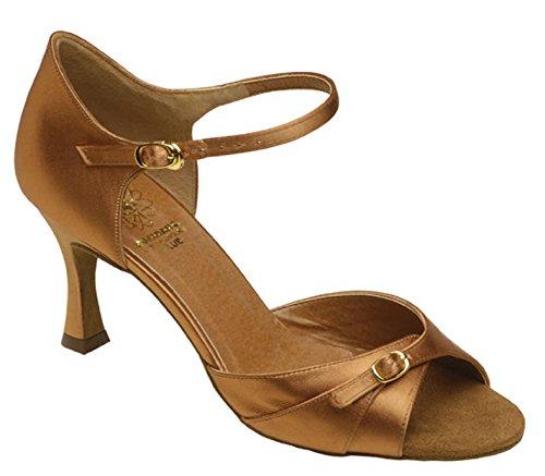Dunkel Bronze Tan femme chaussure Supadance 7843 boucle à X400qw
