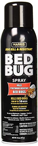 Harris Toughest Bed Bug Killer, 16oz Aerosol Spray