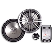 Polk Audio DB6501 6.5-Inch 2-Way Component System (Pair, Silver)