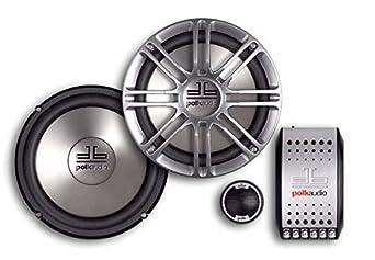 Polk Audio DB6501 6.5-Inch 2-Way Component System Pair, Silver