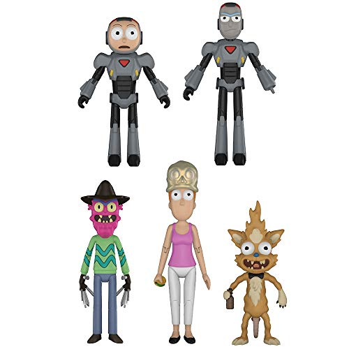 Funko Rick & Morty Series 2 Action Figures, 5