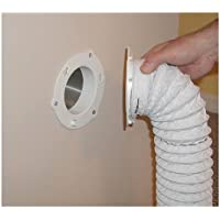 Dryer Dock Dryer Vent 6 for 4 Tubes, White