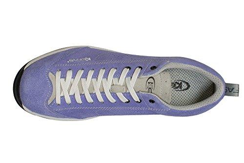 3172 Sneakers suede Globelite Violet en Kefas 48xFwqZ