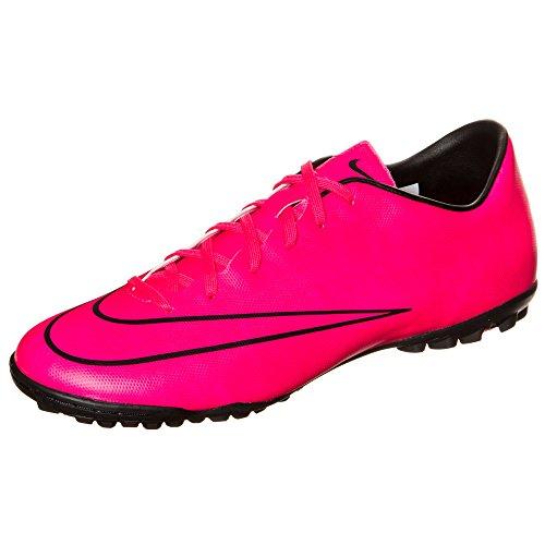 Mercurial football Tf ROSE de HYPER HYPER à crampons Chaussure ROSE Nike V BLK Victory BLK Turf 5X8Fwx