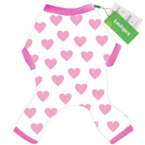 LovinPet Cute Pet Apparel for Dogs | Cozy Cotton Pet Clothing for Small Dogs | XXS Dog Clothes, XS Dog Clothes & Medium Funny Dog Clothes (Pink, Male or Female Dog Clothes) (Doggy Clothing)