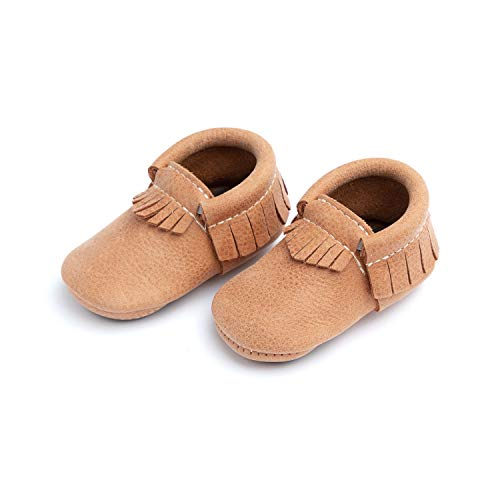 Freshly Picked Unisex Soft Sole Moccasins Infant//Toddler