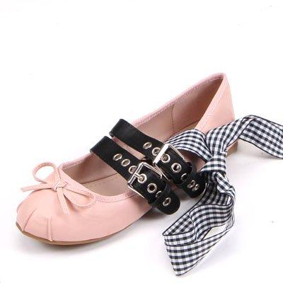 Zapatos De Redonda Mujer Zapatos Inferior Grandes Transversal Pajarita Correa Ballet Cabeza Zapatos Plana Señor De Astilleros Rosa Solo GAOLIM xvYfTqwZZ
