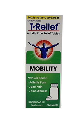 T-Relief Arthritis Pain Relief, 100 Tablets (Pack of - Arthritis 100 Tabs