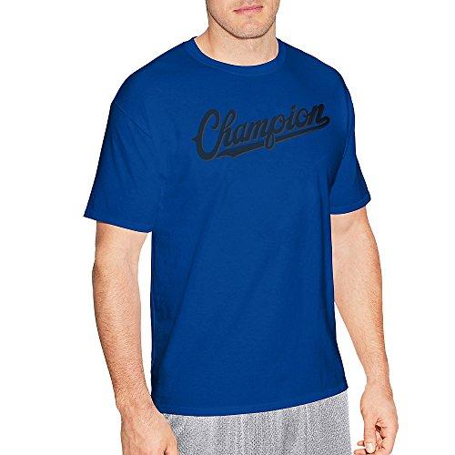 Hanes Baseball Jersey - Hanes Champion Men's Jersey Tee, Baseball Script Logo