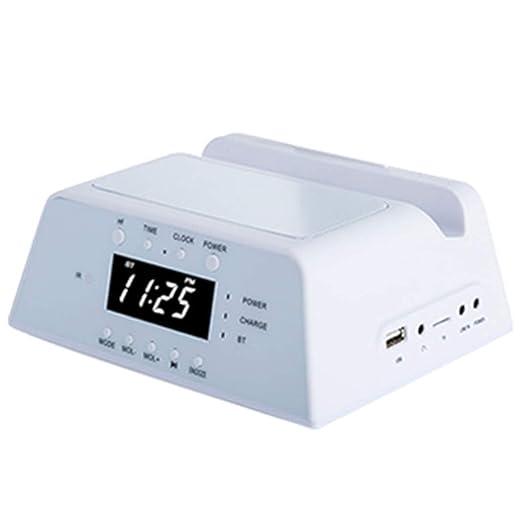 Cargador de teléfono móvil Altavoz Bluetooth reloj ...