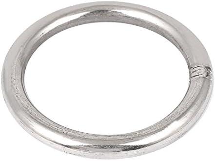 uxcell 溶接リング 201ステンレス鋼 ストラップ 溶接oリング M10 x 80mm