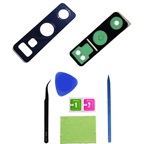 1 Eaglewireless A+ Quality True Glass Rear Camera Glass Lens Replacement Repair Parts W/Adhesive for Samsung Galaxy Note 9+Repair Tool-Blue from Eaglewireless