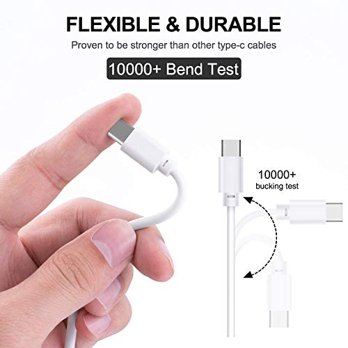 USB Type C Cable, USB-C to USB-A, Fast Charging Cable by HENIST (Image #2)