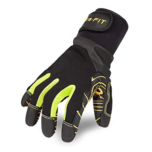Intra-FIT Professional Anti-Vibration Glove EN ISO 10819:2013 Certified, EN3882112, Grip Long Lasting, Good for Drilling Equipment Operation, Tool Handling, Mechanical, Construction and Farming ()