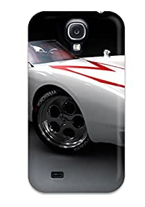 New CaseyKBrown Super Strong Speed Racer Mach 5 Car Tpu Case Cover For Galaxy S4