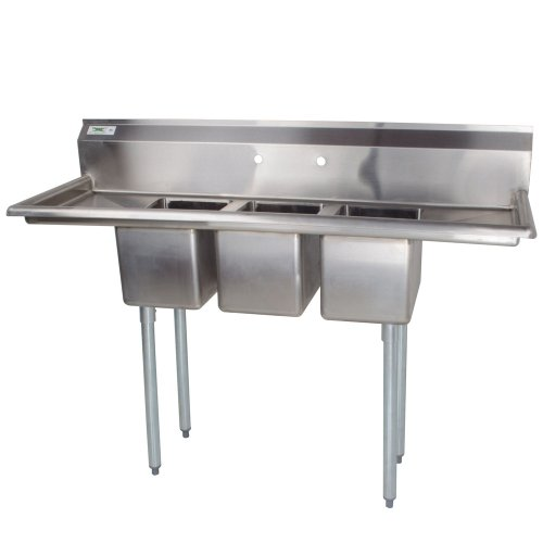 Compartment 16 Gauge Stainless Steel - 2