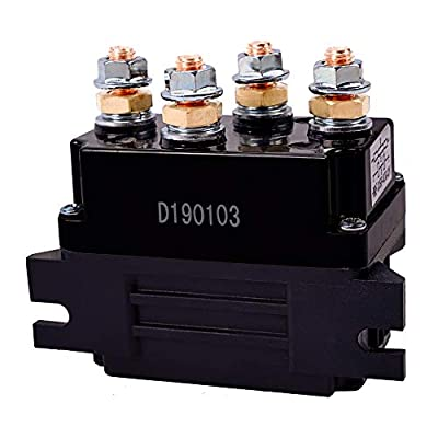 ORCISH 12V 500A Winch Solenoid Relay for 8000-15000lb ATV UTV Truck Winch Replacement: Home Improvement