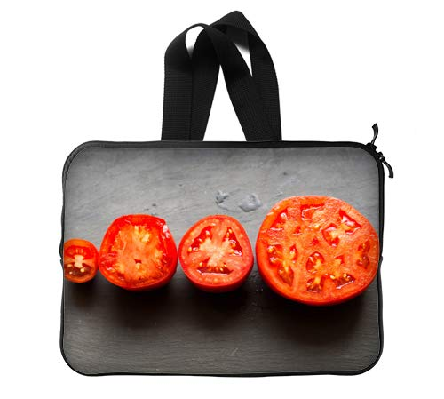 CustomLittleHome Delicious Tomatoes Custom Lapotp Sleeves Bags 13