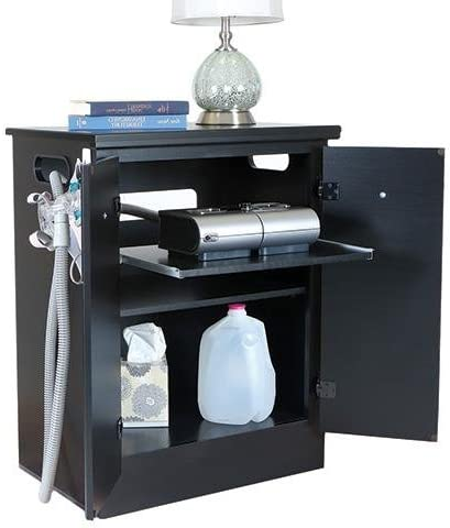 CPAP Nightstand Finish Solid Black