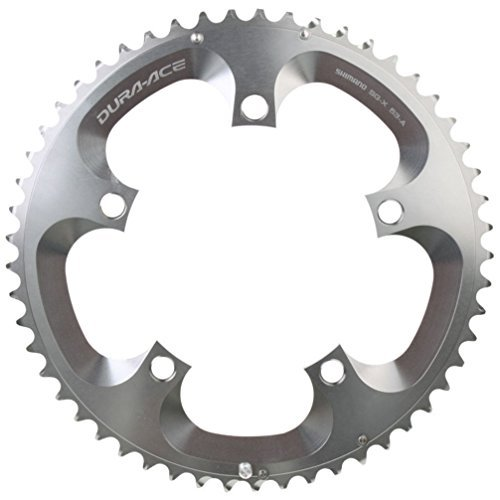 - Shimano FC-7800 Dura-Ace Chainring (Silver, 130x53T 10 Speed A-Type)