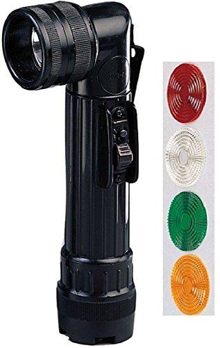 New Flashlight Military Style Angle Head C-Cell Flashlight