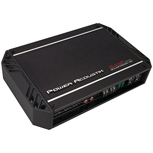 Power Acoustik BAMF26004D PA 4X200 4X300 2600W MAX; CLASS D 4C