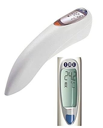 TME SOLO-TH - Termómetro digital con enchufe, gama profesional, color blanco