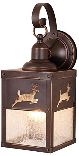 Vaxcel OW33553BBZ Bryce 5-Inch Outdoor Wall Light, Burnished Bronze