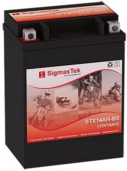 Replacement ETX15 Motorcycle Battery