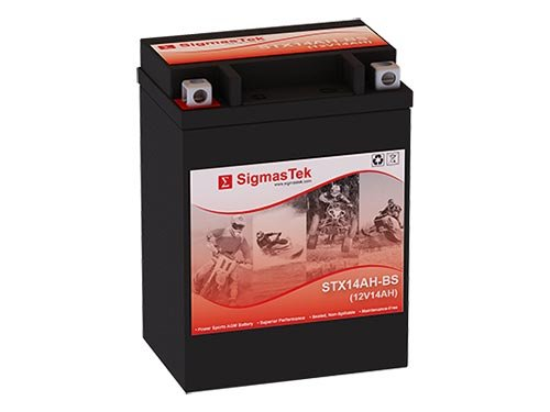 12 Volt 14 Amp Hour Sealed Lead Acid Battery Replacement with NB Terminals by SigmasTek STX14AH-BS
